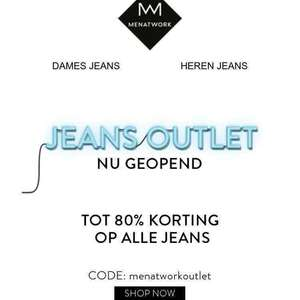 Jeans outlet Menatwork.