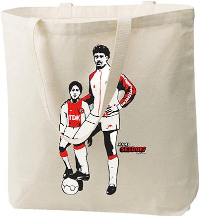 Gratis Rijkaard x Kluivert Kamp Seedorf tas bij een maandabonnement! Abbo stopt vanzelf.
