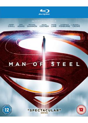 Man of Steel (Blu-ray + UltraViolet Copy) voor € 9,25 @ Base