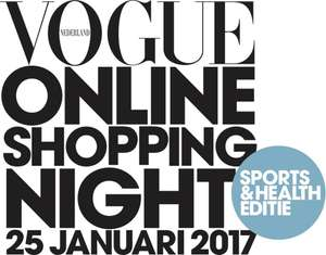 Vogue Online Shopping Night: Sports en Health (25 januari)