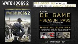 Watch Dogs: Dedsec Edition gratis bij aanschaf Watch Dogs 2 (PS4/XBO) @ Ubisoft