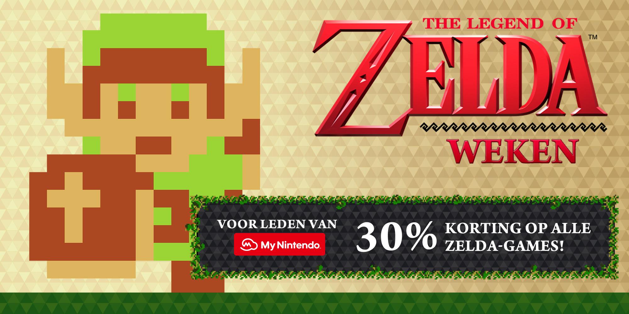 Vanaf morgen 30% korting op alle Zelda games @ Nintendo eShop