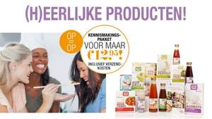 Fair Trade Goodiebag voor €12,95 @ Flair At Home