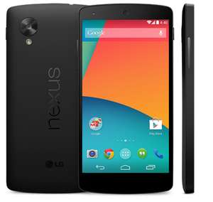 Google Nexus 5 16GB (wit of rood) + autolader en displaybeschermfolie door kortingscode voor €278,99 @ Orange Store