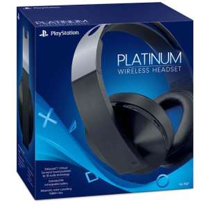 Sony PlayStation Wireless Platinum 7.1 headset