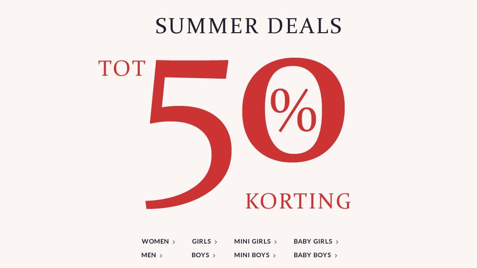 Sale met kortingen tot 50%  + kortingscode voor 20% extra korting @ Tom Tailor