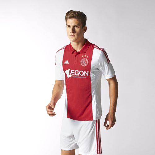 Ajax shirt voor €44,47  / kindershirt €36 (+ sokken/broeken in aanbieding) (door trucje) @ Adidas