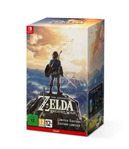 The Legend Of Zelda: Breath of the Wild - Limited Edition (Nintendo Switch) voor €89,99 @ Bol.com