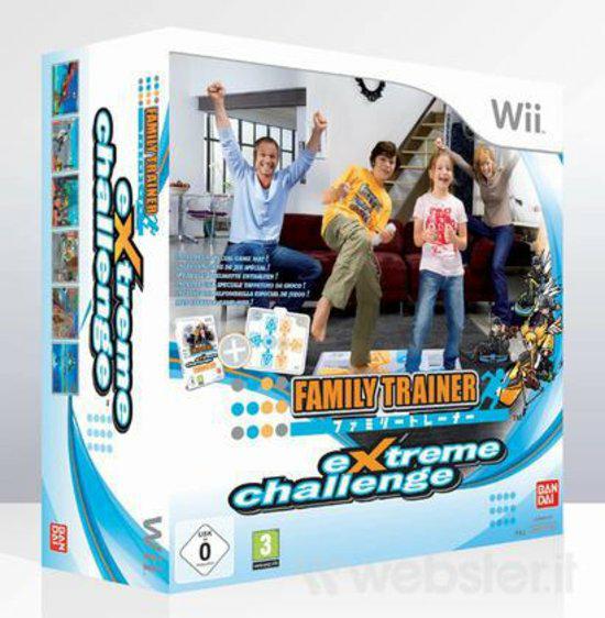 Family Trainer Extreme Challenge incl Mat Nieuw voor Nintendo Wii @ Mariowii