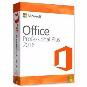 MS Office Professional Plus 2016 32 / 64 bit Genuine licentie sleutel - levenslang activatie @ebay.nl