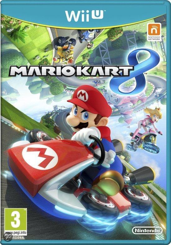 Mario Kart 8 (Wii U) voor € 38,09 @ Zavvi