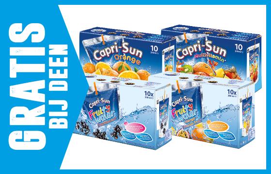Gratis 10 pack Capri-sun bij Deen vanaf 5 februari