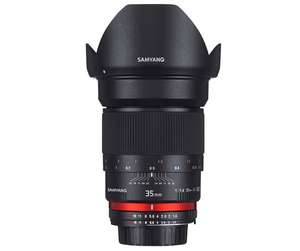 Samyang Optics 35mm f/1.4 ED AS UMC AE Nikon voor €249 (Petax, Sony en Olympus - €299) @ Bol.com