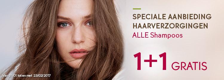 12 flessen shampoo + 20 euro voucher + 2 extra cadeau's @ Yves-rocher