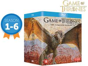 Game of Thrones Blu-Ray Box | Seizoen 1 t/m 6 @iBood
