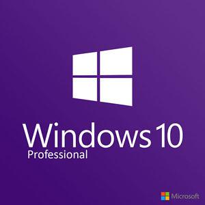 Windows 10 pro licentie 32/64BIT genuine oem coa @ebay.nl