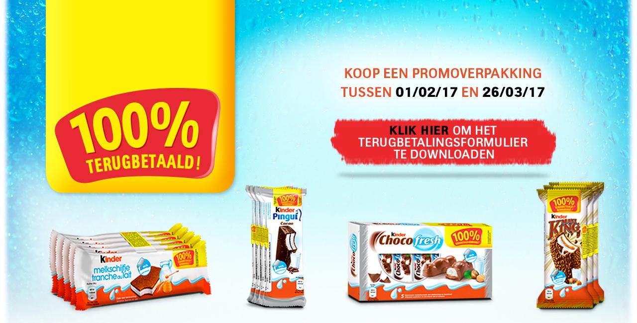 Kinder Chocola GTA (gratis) - 4 producten!