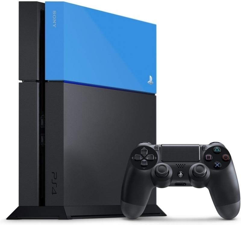 PlayStation 4 Faceplate Aqua Blauw