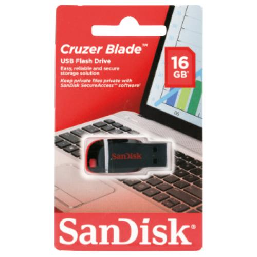 Sandisk Cruzer Blade 16GB voor 4,95 @ Action