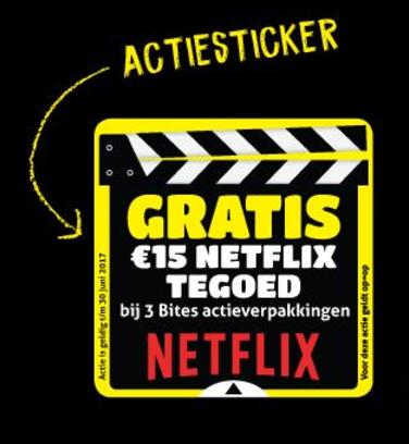 Gratis Netflix €15 cadeaukaart @ Verkade