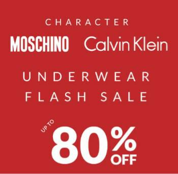 Scherp geprijsd Calvin Klein en Moschino ondergoed @ Sportsdirect.com