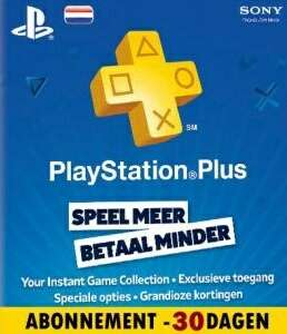 Eén maand gratis PlayStation Plus @ PSN