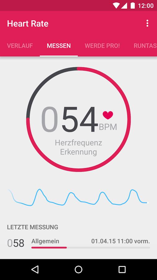 Runtastic Heart Rate Monitor PRO gratis door PROMO code @ Google Play