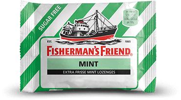 Stuur je vrienden gratis Fishermann's Friend Mint