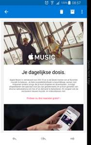 Gratis 3 maanden @Apple Music