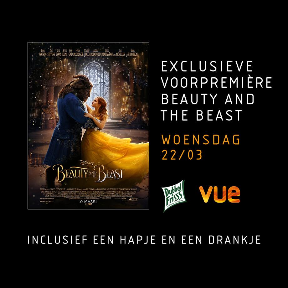 Voorpremière Beauty and the Beast bij Vue @ Eurosparen