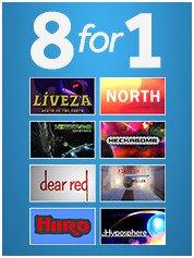 8 Game Pack voor €1 en 25 Game Pack voor €3,99 (Steam) @ Greenmangaming