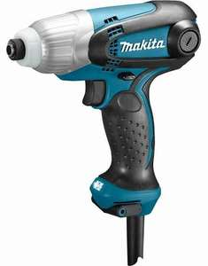 Makita TD0101F Slagschroevendraaier voor €32,65 @ Amazon.co.uk