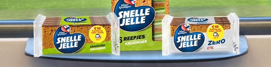 10 euro korting op trein + lunch bij Snelle Jelle