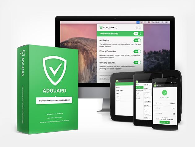 Adguard Premium: Lifetime voor €29,80 @ Stacksocial.com