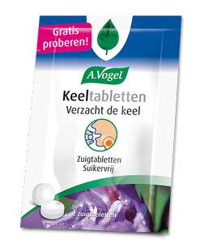 A.Vogel Keeltabletten (Gratis zakje)