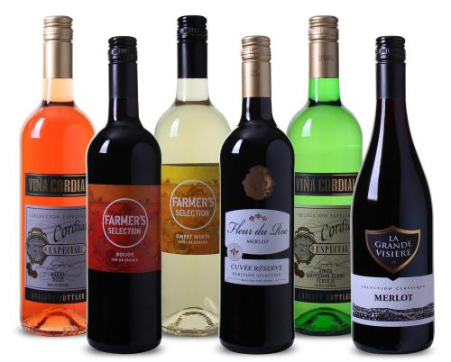 6 flessen voor 15 euro inclusief verzendkosten @ Wijnvoordeel