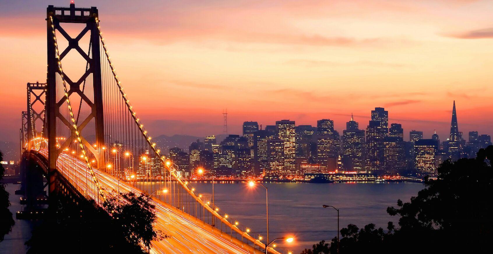 (April-mei) Retourvlucht van Düsseldorf naar San Francisco voor 354 euro (incl ruimbagage)