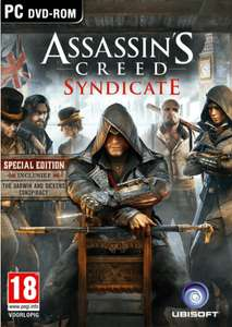 Assassins Creed Syndicate (Special Edition) PC voor €7,99 @ Yourgamezone