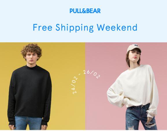 Gratis verzending @ Pull & Bear