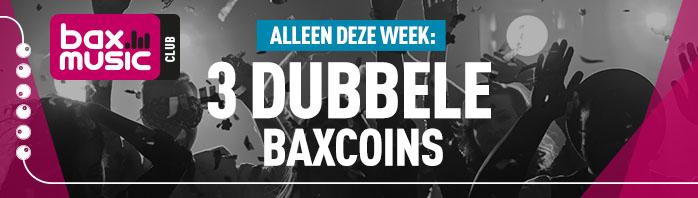 Baxcoins actie! Alleen deze week 3 dubbele bax coins @ Bax Shop