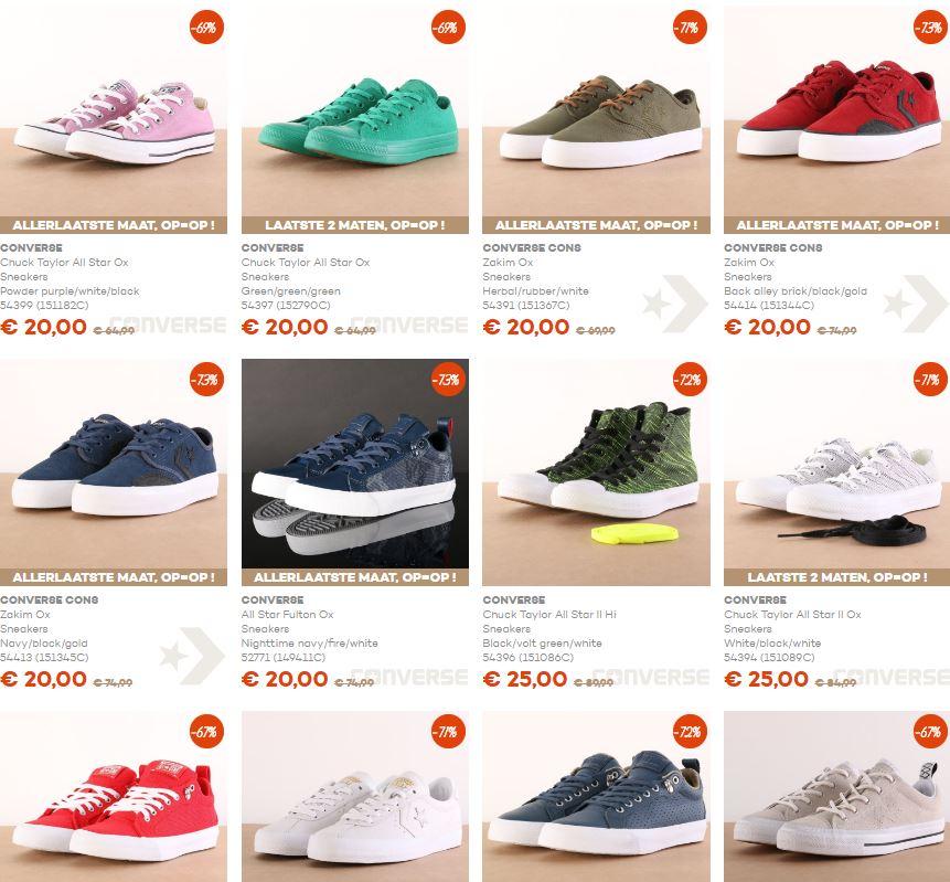 [UPDATE] Sale waaronder broeken, schoenen en New Era caps va €5 @ Go-Britain
