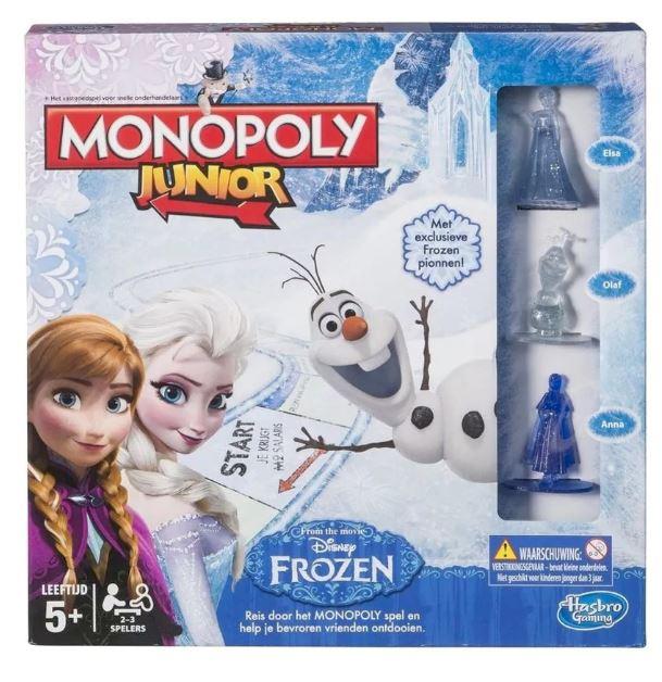 Hasbro Disney Frozen Monopoly Junior €6,99 @ Kruidvat
