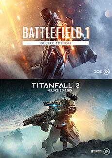 Battlefield™ 1 - Titanfall™ 2 Deluxe-bundel PC @ Origin