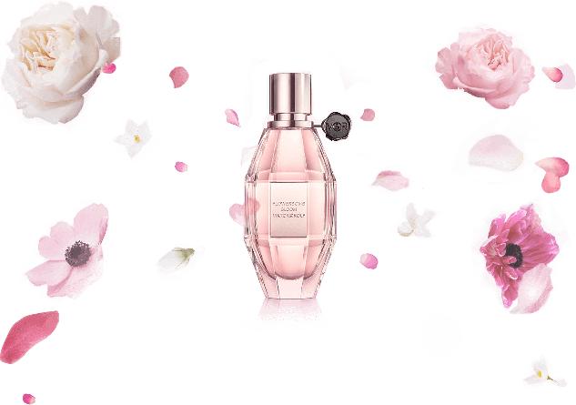 gratis proefmonster van de nieuwe geur, Viktor & Rolf flowerbomb bloom