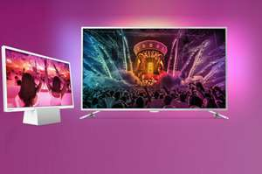 """Gratis 60 cm LED tv met geïntegreerde Bluetooth speaker bij aankoop van een 65""""  Philips actiemodel"""