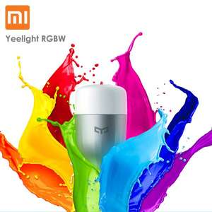 Xiaomi Yeelight RGBW E27 Smart LED Bulb @YoShop