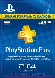 PlayStation Plus 12 maanden voor €39,99 @ Game Mania