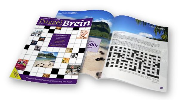 Gratis Puzzelboek PuzzelBrein t.w.v. € 10,40