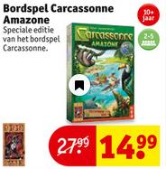 Carcassonne Amazone €14,99 @ Kruidvat