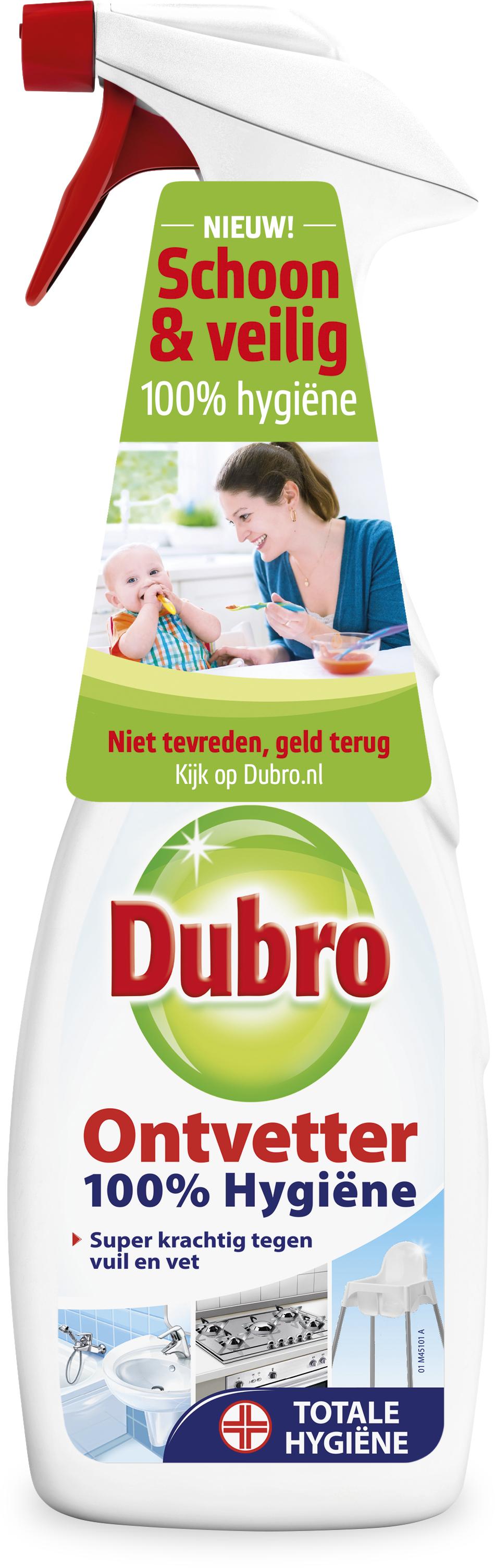 Gratis - Geld terug bij Dubro Ontvetter